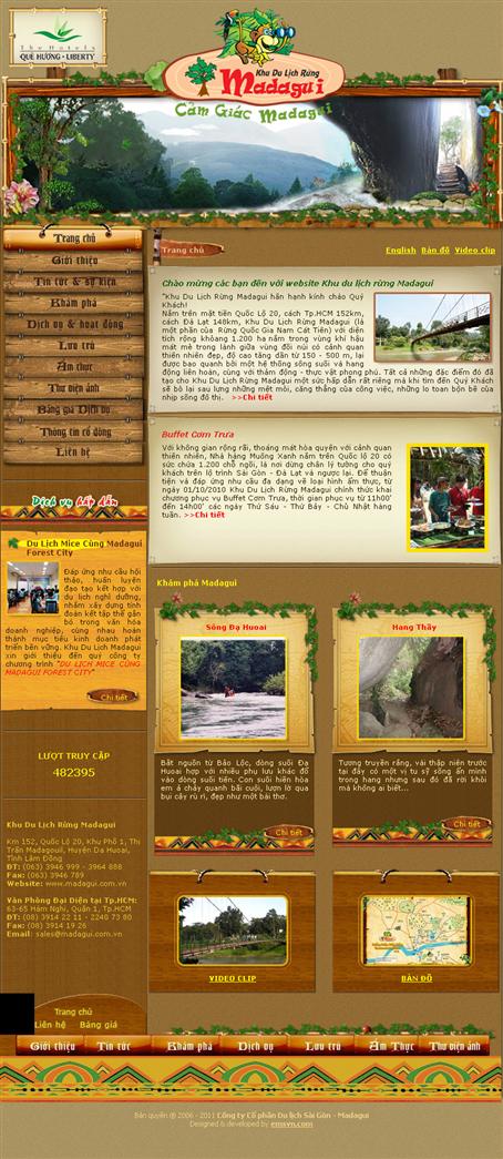 Thiet Ke Website Du Lich