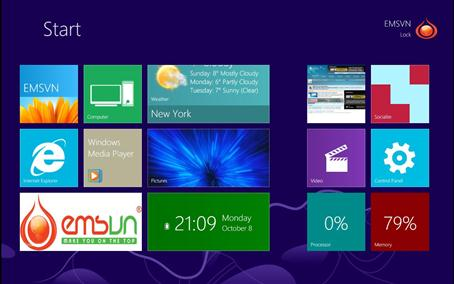 Doi Giao Dien Windows XPVista7 Thanh Windows 8 Voi Windows 8 Transformation Pack 6