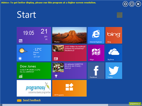IObit WinMetro 10 Beta Mang Modern UI Cua Windows 8 Vao XPVista7